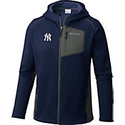 Columbia Men's New York Yankees Blue Jackson Creek Full-Zip Hoodie