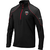 Columbia Men's D.C. United Panel Black Quarter-Zip Pullover