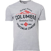 Columbia Men's Mountain Logo Short Sleeve T-Shirt