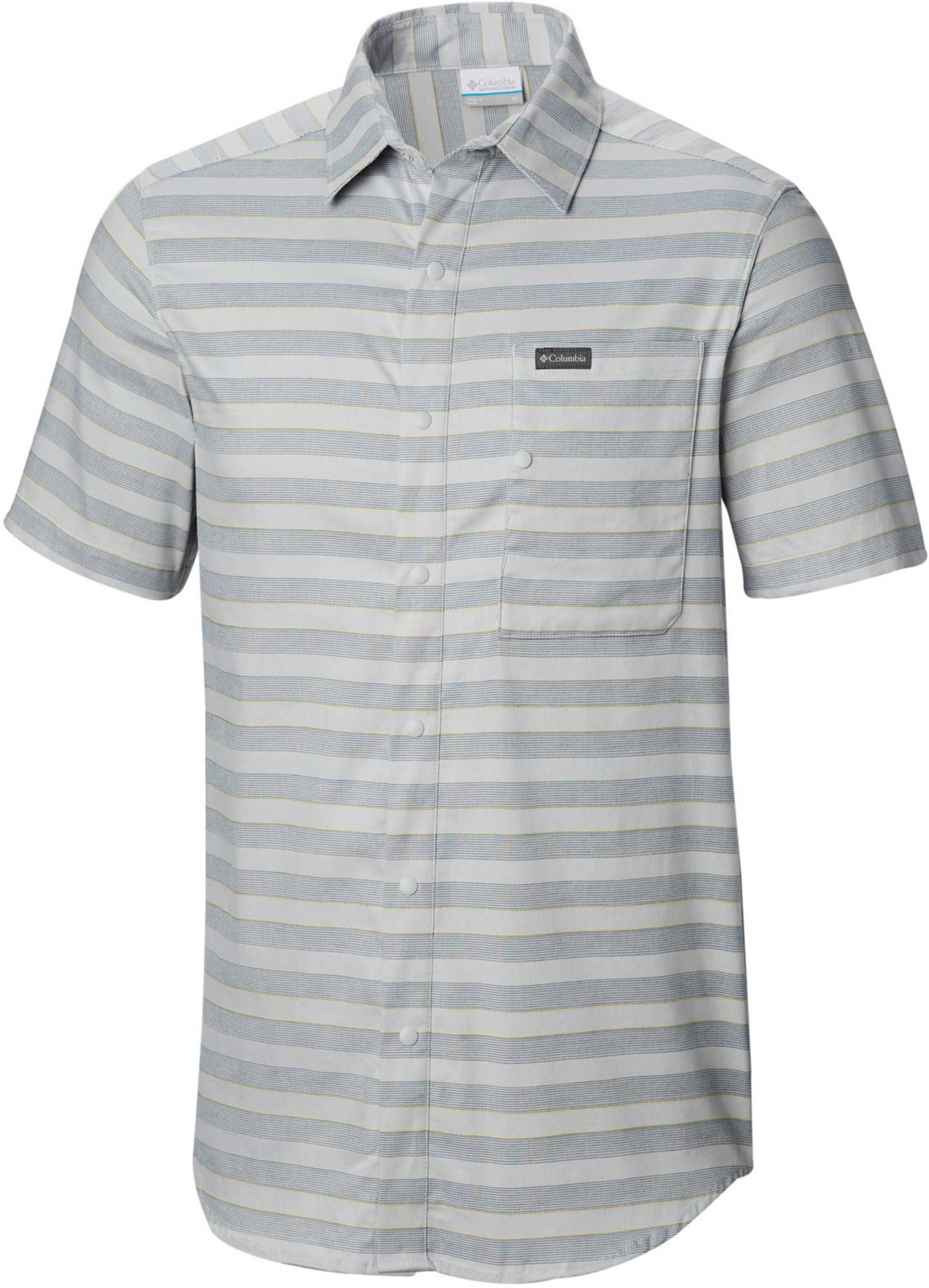 Columbia Men's Shoals Point Short Sleeve Button Down Shirt