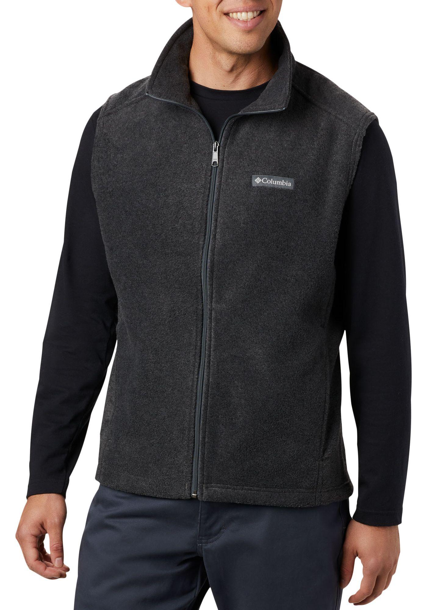 Columbia Men's Steens Mountain Fleece Vest (Regular and Big & Tall)