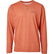 Columbia Men's Thistletown Park Long Sleeve Henley Shirt (Regular and Big & Tall)