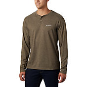 Columbia Men's Thistletown Park Long Sleeve Henley Shirt (Regular and Big & Tall)