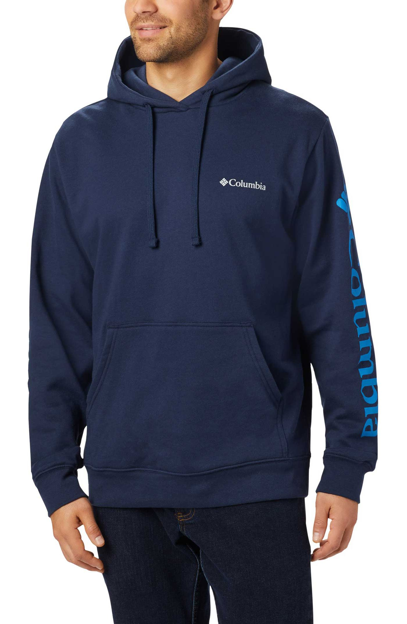 Columbia Men's Viewmont II Sleeve Graphic Hoodie (Regular and Big & Tall)