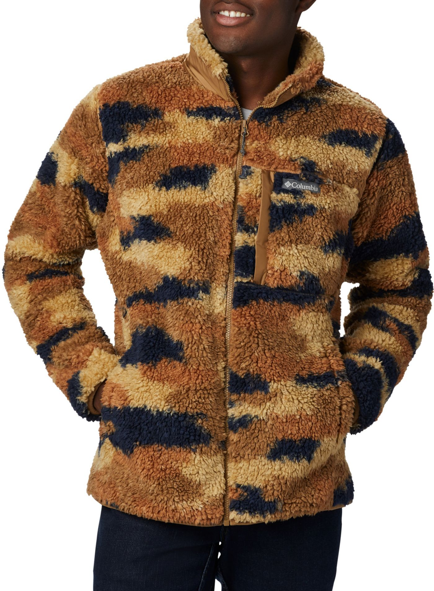 Columbia Men's Winter Pass Print Fleece Full Zip Jacket
