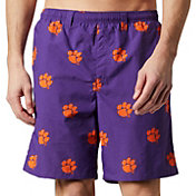 Columbia Men's Clemson Tigers Regalia Backcast II Printed Performance Shorts