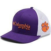 Columbia Men's Clemson Tigers Orange PFG Mesh Fitted Hat