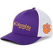Columbia Men's Clemson Tigers Regalia PFG Mesh Fitted Hat