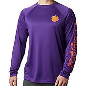 Columbia Men's Clemson Tigers Regalia Terminal Tackle Long Sleeve T-Shirt