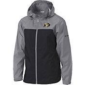 Columbia Men's Colorado Buffaloes Grey/Black Glennaker Lake II Jacket