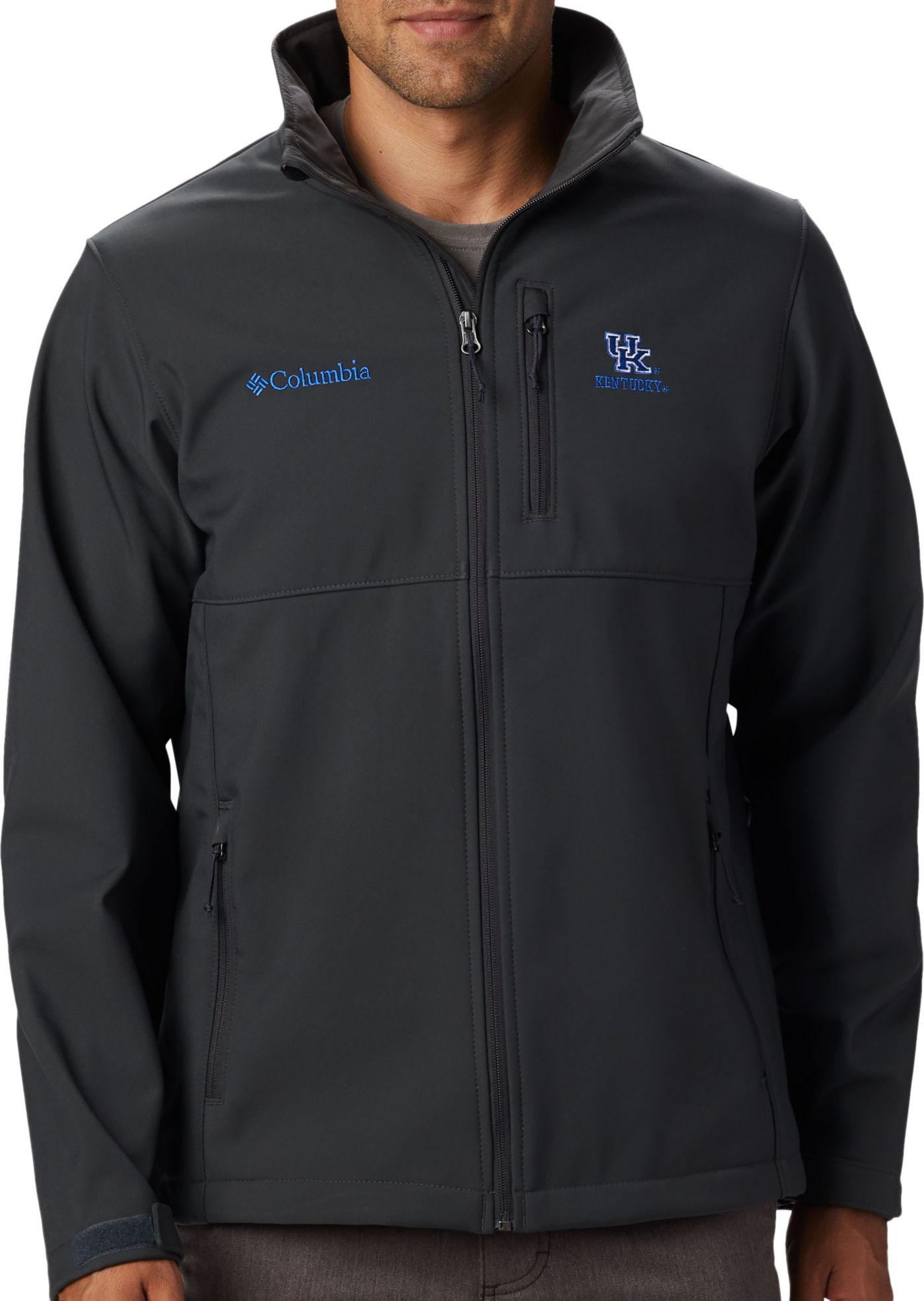 Columbia Men's Kentucky Wildcats Grey Ascender Jacket