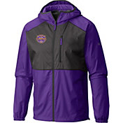 Columbia Men's 2019 National Champions LSU Tigers Flash Forward Windbreaker Jacket
