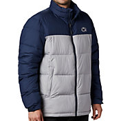 Columbia Men's Penn State Nittany Lions White/Blue Pike Lake Jacket