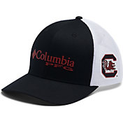 Columbia Men's South Carolina Gamecocks PFG Mesh Fitted Black Hat