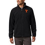 Columbia Men's Tennessee Volunteers Flanker Full-Zip Fleece Black Jacket