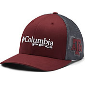 Columbia Men's Texas A&M Aggies Maroon PFG Mesh Fitted Hat