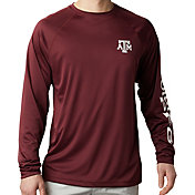 Columbia Men's Texas A&M Aggies Maroon Terminal Tackle Long Sleeve T-Shirt