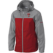 Columbia Men's Texas Tech Red Raiders Grey/Red Glennaker Lake II Jacket