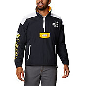 Columbia Men's Iowa Hawkeyes Grey Santa Ana Quarter-Zip Anorak Jacket