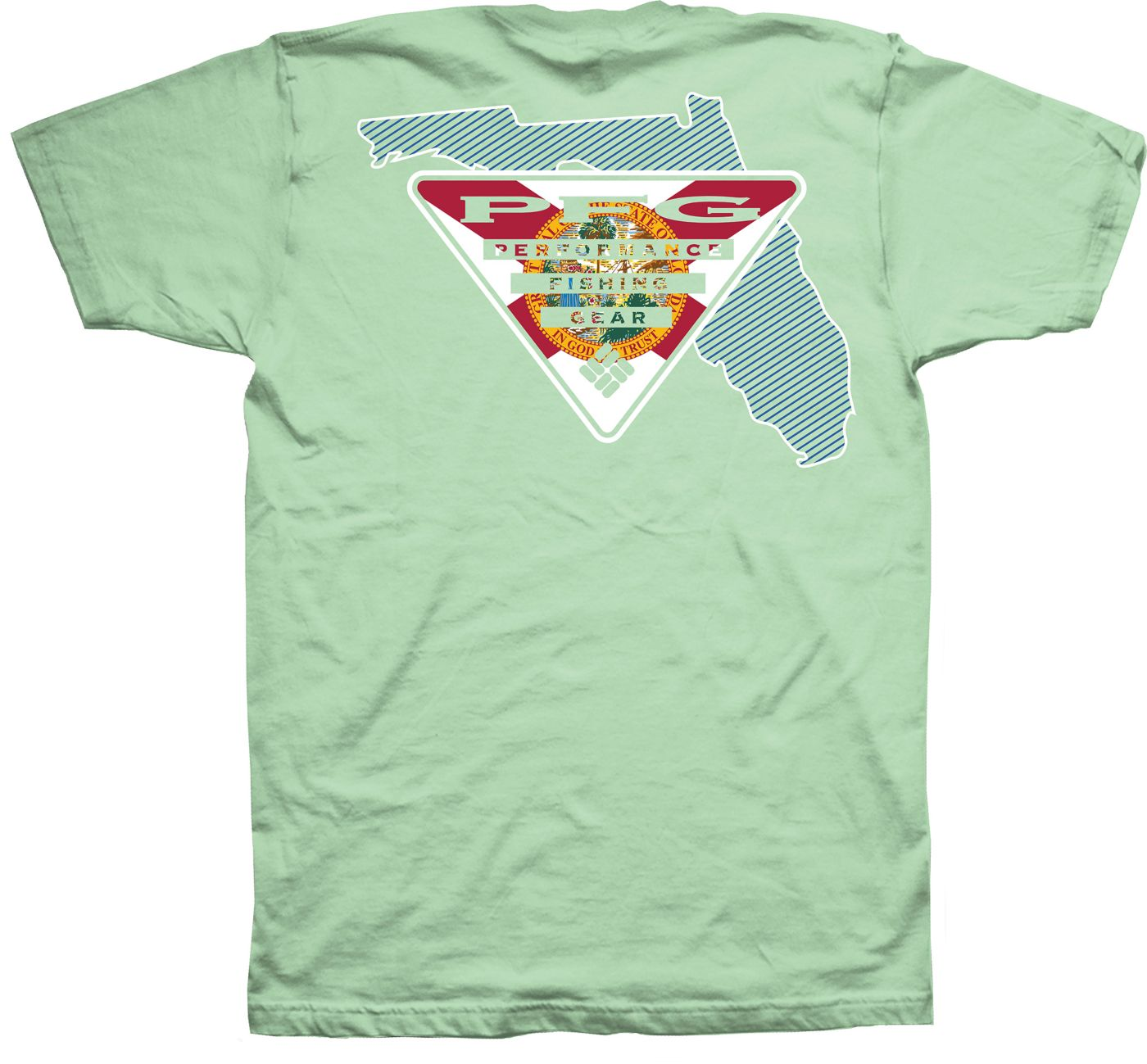 Columbia Men's PFG Florida Flag T-Shirt