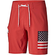 Columbia Men's PFG Fish Series Board Shorts