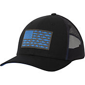 Columbia Men's PFG Mesh Snapback Fish Flag Hat