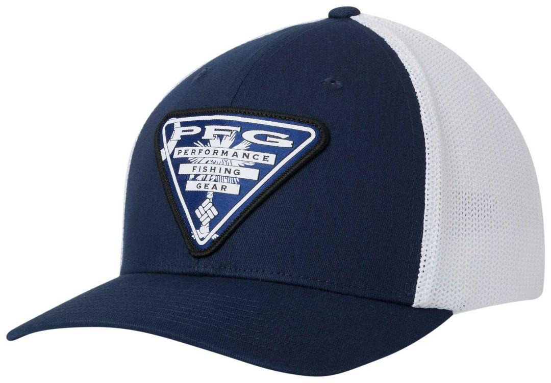 61074cfc5f5 Columbia Men s PFG Mesh Stateside Ball Cap 1