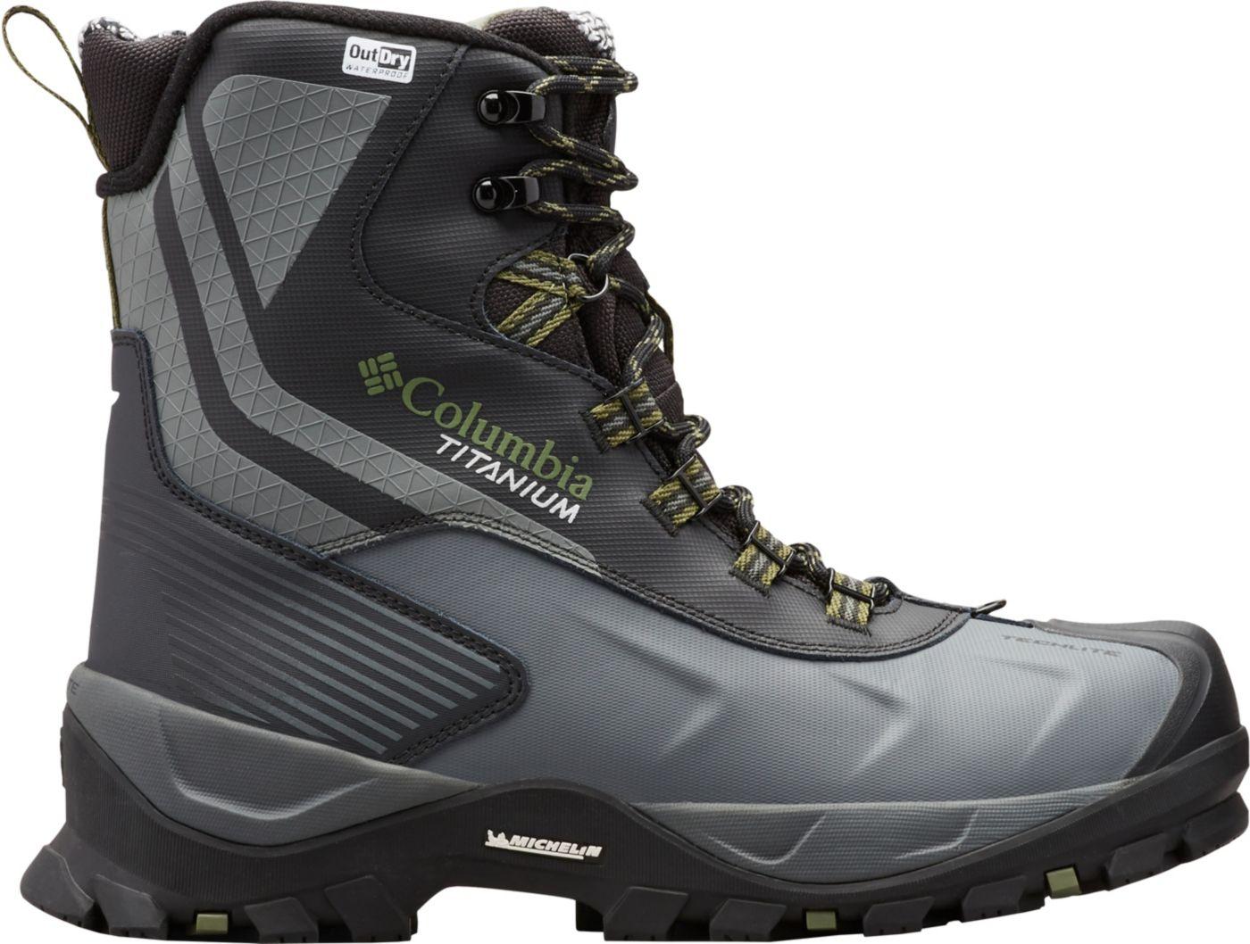 Columbia Men's Powderhouse Titanium Omni-Heat 3D OutDRY 600g Waterproof Winter Boots
