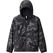 Columbia Youth Reversible Pixel Grabber Rain Jacket