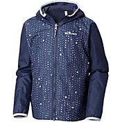 Columbia Youth Reversible Pixel Grabber Rain Jacket