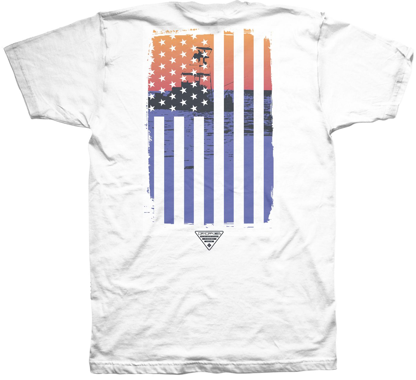 Columbia Men's USA Flag Flow T-Shirt