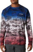 71524bc631c39 Columbia Men's Super Terminal Tackle Long Sleeve Shirt. Americana Digi Camo  Fade