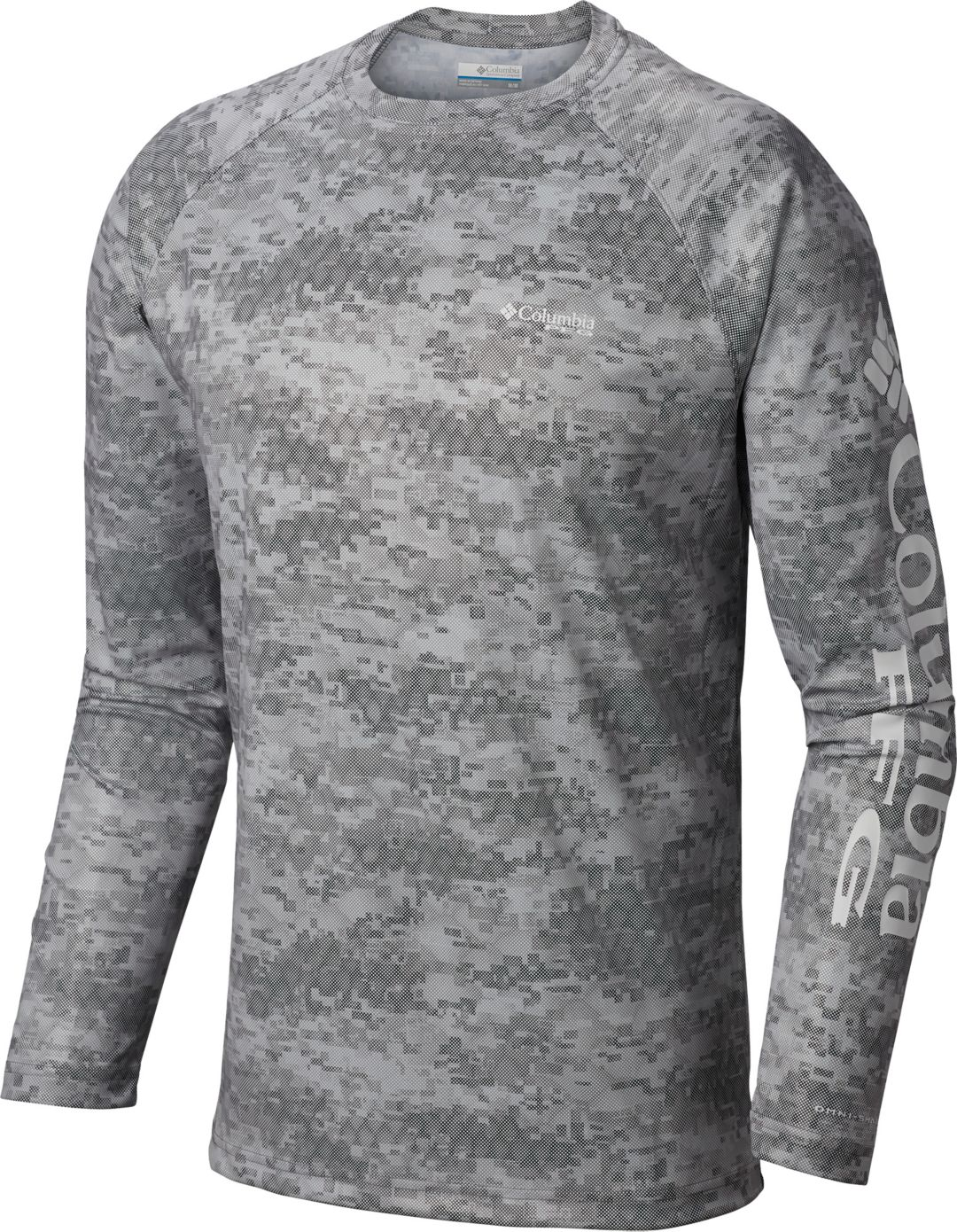 outstanding features lovely luster best shoes Columbia Men's Terminal Deflector Printed Long Sleeve Shirt