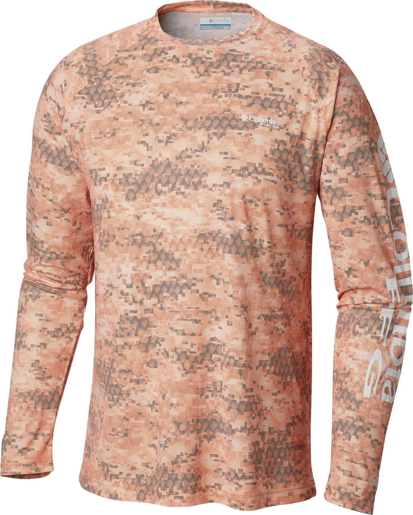 Columbia Men's Terminal Deflector Printed Long Sleeve Shirt