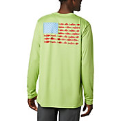 Columbia Men's Terminal Tackle PFG Fish Flag Long Sleeve Shirt