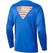 Columbia Men's Terminal Tackle PFG Tri-Fish Long Sleeve