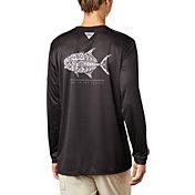 Columbia Men's Terminal Tackle PFG Tribal Fish Long Sleeve Shirt