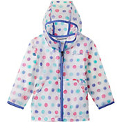 Columbia Little Girls' Translucent Trail Rain Slicker