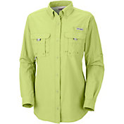 Columbia Women's Bahama Short Sleeve Button Down Shirt