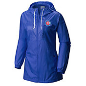 Columbia Women's Chicago Cubs Blue Flashback Full-Zip Jacket