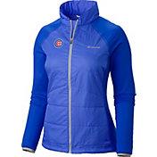 Columbia Women's Chicago Cubs Blue Match 38 Full-Zip Jacket