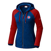 Columbia Women's Chicago Cubs Blue Darling Days Full-Zip Hoodie