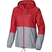 Columbia Women's St. Louis Cardinals Red Flash Forward Windbreaker