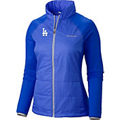 Columbia Women's Los Angeles Dodgers Dodger Blue Match 38 Full-Zip Jacket