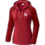 Columbia Women's Houston Cougars Red Darling Days Full-Zip Hoodie