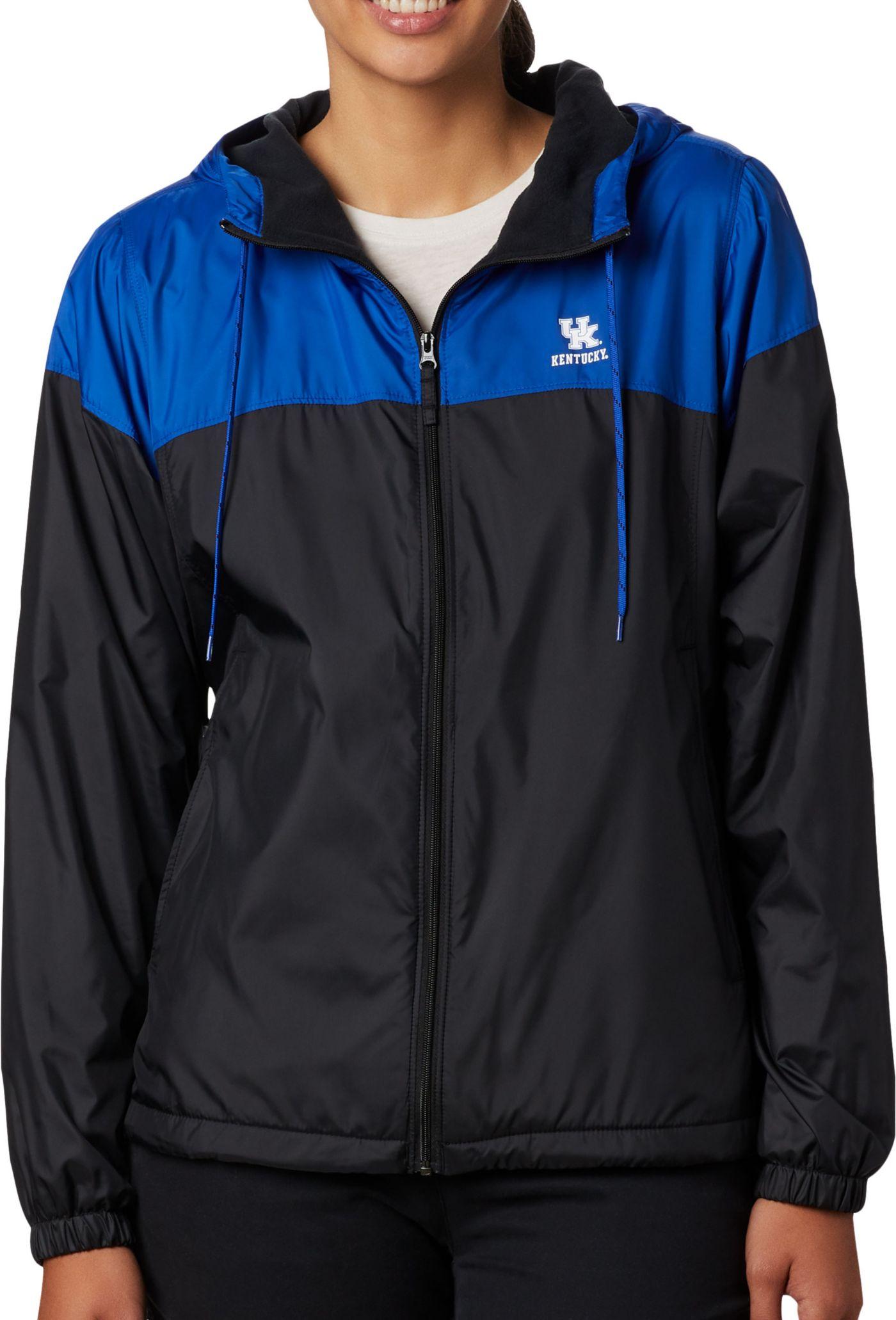 Columbia Women's Kentucky Wildcats Blue CLG Flash Forward Lined Jacket