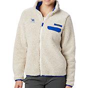Columbia Women's Kentucky Wildcats Grey Mountain Side Heavyweight Full-Zip Jacket