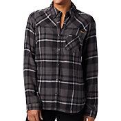Columbia Women's LSU Tigers Plaid Flare Gun Flannel Long Sleeve Black Shirt