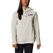 Columbia Women's LSU Tigers Darling Days Full-Zip White Hoodie
