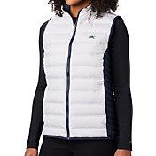 Columbia Women's Notre Dame Fighting Irish Lake 22 Reversible Full-Zip White Vest